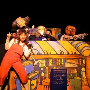 Rojoberto y don Quijote de la Mancha (La otra zapatilla)
